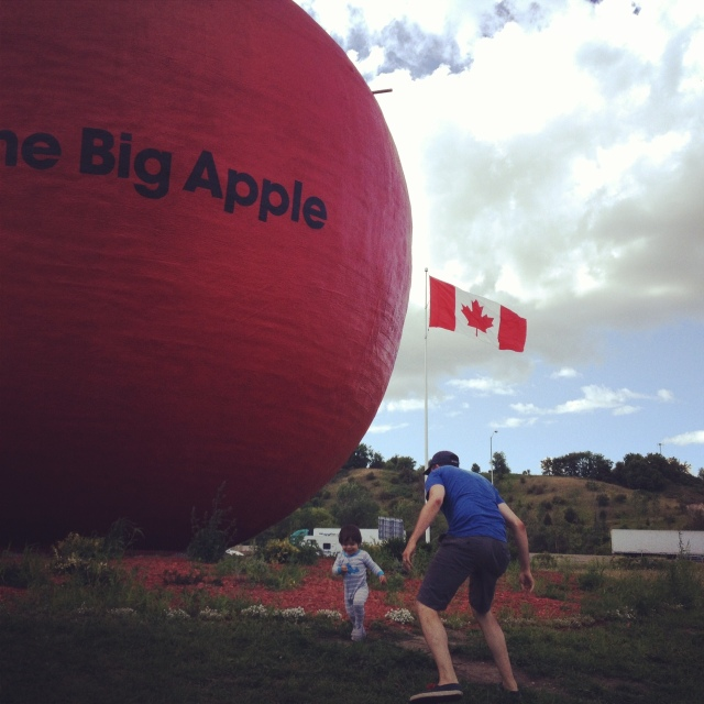 Big fruit. Big fun.